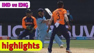 India vs england | ICC Cricket world cup 2019 - match Highlights | Ind vs eng match video