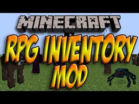 Minecraft 1.5.2/1.5.1 - Como Instalar RPG INVENTORY MOD - ESPAÑOL [HD] 1080p