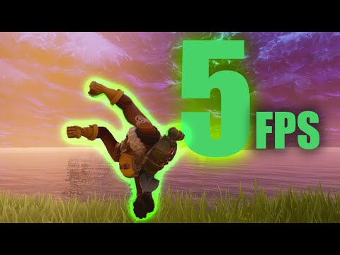 Can you win with 5FPS on FORTNITE?