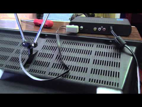 Hooking up a Digital TV Converter Box
