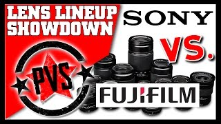 Fuji vs. Sony Lens Showdown