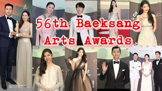 The 56th Baeksang Arts Awards: Attendees and Winners | South Korea's Brightest Actors and Actresses