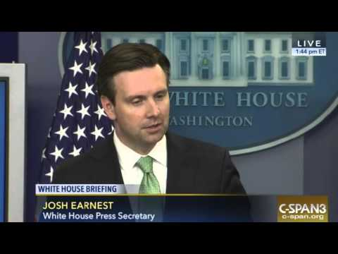Josh Earnest Takes Questions On 28 Redacted Pages Of Joint Inquiry Into 9/11 - 4/11/2016