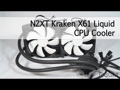 #1621 - NZXT Kraken X61 Liquid CPU Cooler Video Review