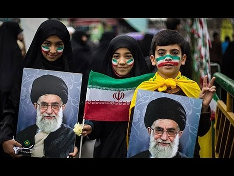 Iranian's celebrate Anniversary of Islamic Revolution 2015