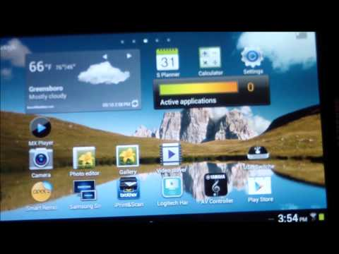 SAMSUNG GALAXY TAB 2 7.0 REVIEW PREVIEW + USB EXTERNAL 8GB 16