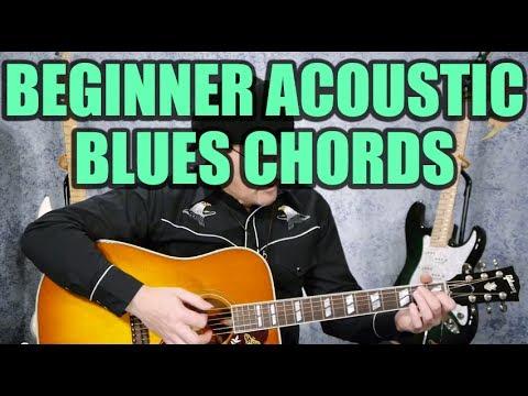 Beginner Acoustic Blues Chords (Guitar Lesson)