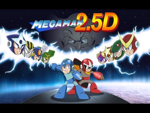 Mega Man 2.5D - Release trailer