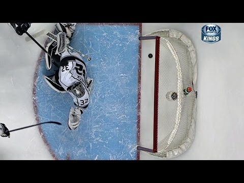 Lecavalier's shot hits three posts and stays out