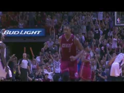 (Copyright Dawk Ins) Chris Bosh 22 points (3 clutch shots) vs Charlotte (Full Highlights