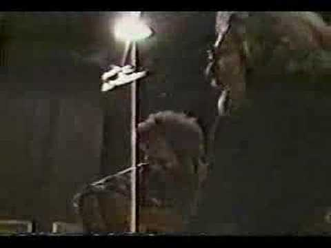 Jerry Garcia working on a Levi's commercials