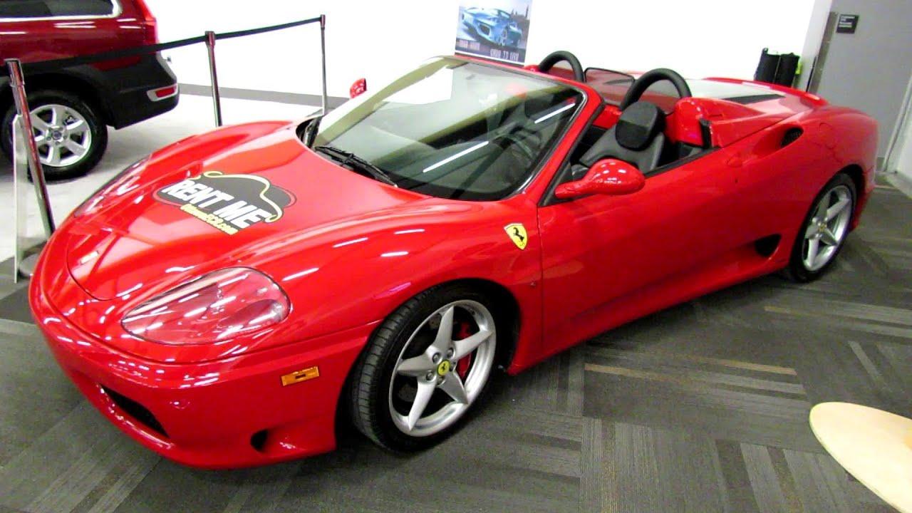 2003 Ferrari 360 Modena Exterior And Interior Walkaround