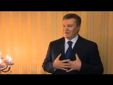 Ukraine's President Viktor Yanukovych Flees Capital