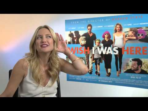 Kate Hudson on swear jars, stealing mum's style and Wish I Was Here