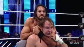 Dean Ambrose vs Seth Rollins WWE Championship, SmackDown Live,19 de julio 2016.