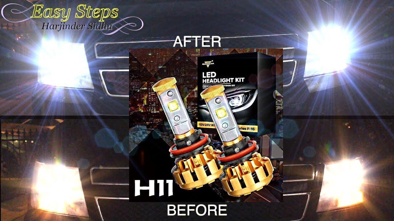 Amazoncom R2 COB 9005 HB3 8000LM LED Headlight