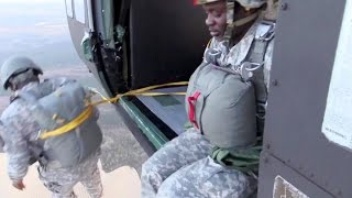 Watch These Soldiers Jumping Out Of A Perfectly Good Helicopter