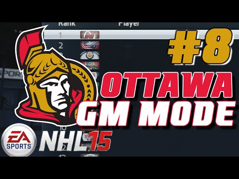 NHL 15: GM Mode Commentary - Ottawa ep. 8