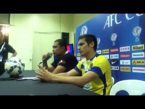 AFC Cup post-match press conference -Global FC vs South China
