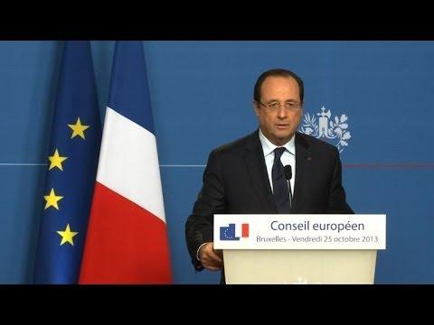 """Taxe à 75%: """"même règle pour tous"""" affirme Hollande"""