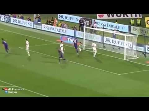 Marcos Alonso Amazing Free Kick Goal | Fiorentina vs AC Milan 2-0 | 23.08.2015. HD