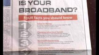 Fraudband or Broadband? (Version A)