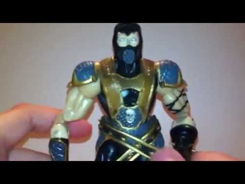 Mortal Kombat Deception: Scorpion Action Figure Review