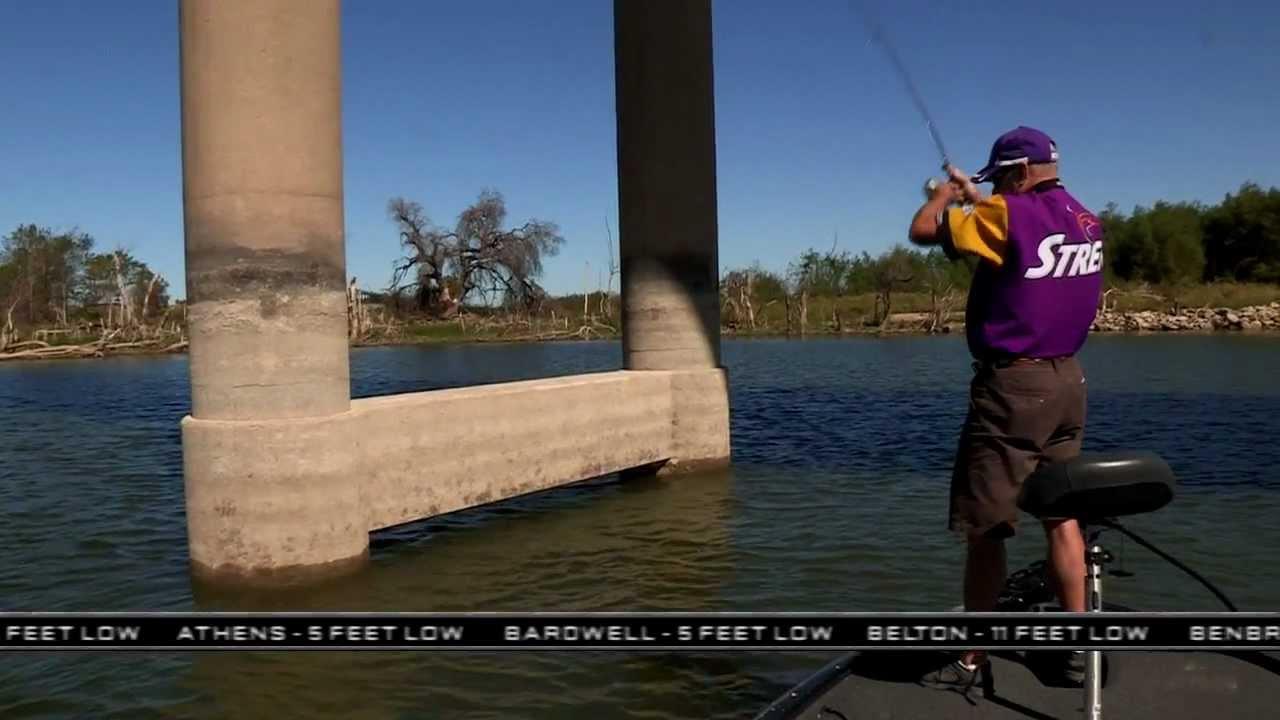 Southwest outdoors report 33 2011 season youtube for Lake waco fishing report