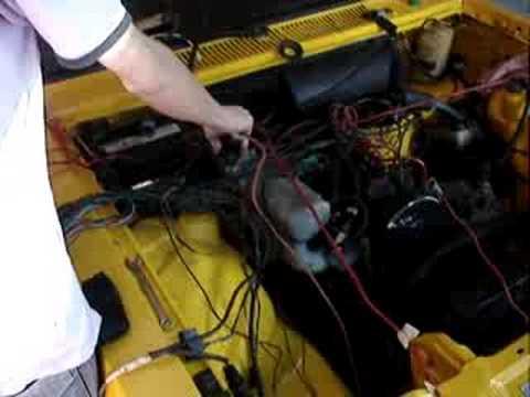 Motor ap 2.0 gti no chevette tubarao