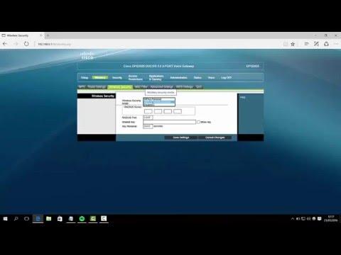 Router Cisco DPQ3925 configuración wifi de Claro