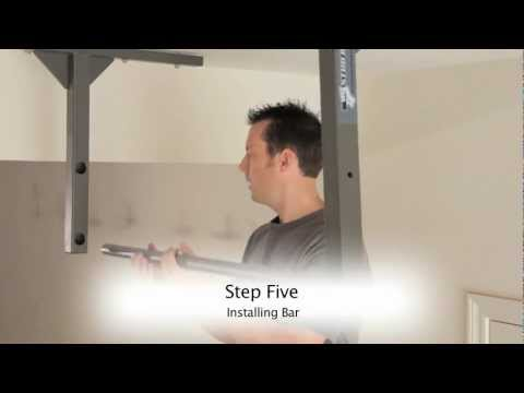 How to install a Stud Bar pull up bar into wood studs