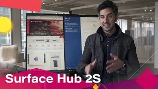 Surface Hub 2S Hands-On: Cutting-Edge Collaboration