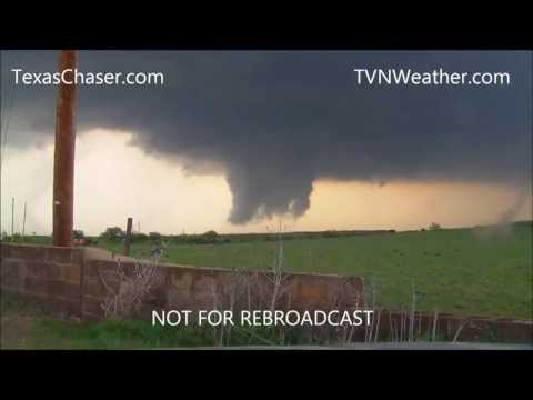 4-14-2012 HIGH RISK Tornado Outbreak near Woodward Oklahoma