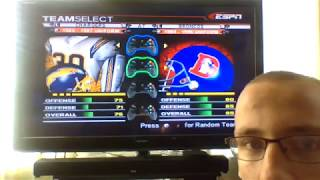 ESPN NFL 2K5 Custom Season Game 5:Broncos V. Chargers (80s edition)