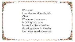 Watch John Waite World In A Bottle video