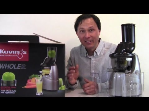 "Kuvings Whole Slow Juicer with 3"" Wide Feed Chute Unboxxing Review"