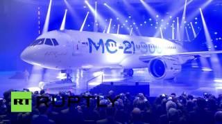 MC-21: New Russian high-tech plane rolled out for presentation