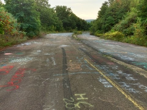 Urban Exploration: Centralia, PA Ghost Town Burning Underground