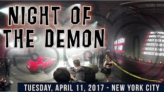 Dodge Demon 360º Reveal - Night of the Demon NYC - Rough Cut