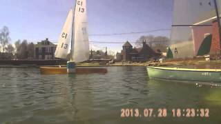 2014 Marblehead Region 1 Regatta Race #9