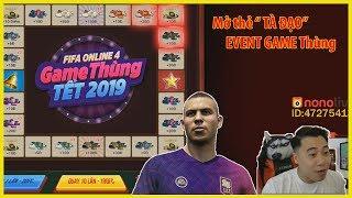 """Mở thẻ """"Game Thùng"""" cực Tà Đạo trong tay Vodka Quang - Fifa Online 4"""