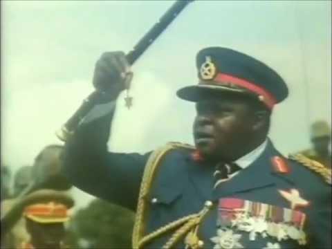 President Idi Amin Dada Parade - Medal of Bwallah! HD.