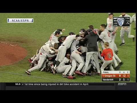 NCAA Baseball Super Regionals: Oregon State downs Vanderbilt to advance to College World Series