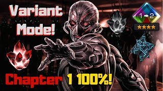 Ultrons Assault Variant Mode! Seatin! Chapter 1 100% Live! - Marvel Contest Of Champions