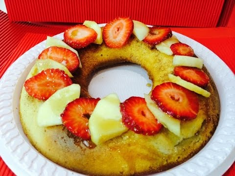 APPLE RING CAKE - DOG PUP CAKE PUDDING - DIY Dog Food by Cooking For Dogs