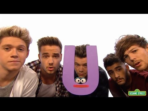 "One Direction Sing on ""Sesame Street"" About Letter ""U"""
