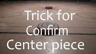 HOW TO CLEAR CENTER PIECE /Tricks /Beginner  by ADITYA PADAWE 