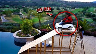 I CAN'T BELIEVE MY DAD REALLY DID THIS... (IT DIDN'T END WELL)