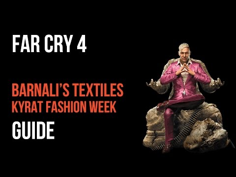 Far Cry 4 Walkthrough Barnali's Textiles Kyrat Fashion Week Gameplay Let's Play