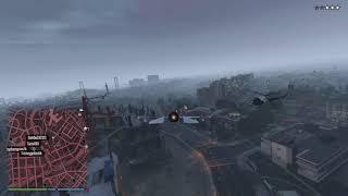 Grand Theft Auto V P996 Lazer canon kill